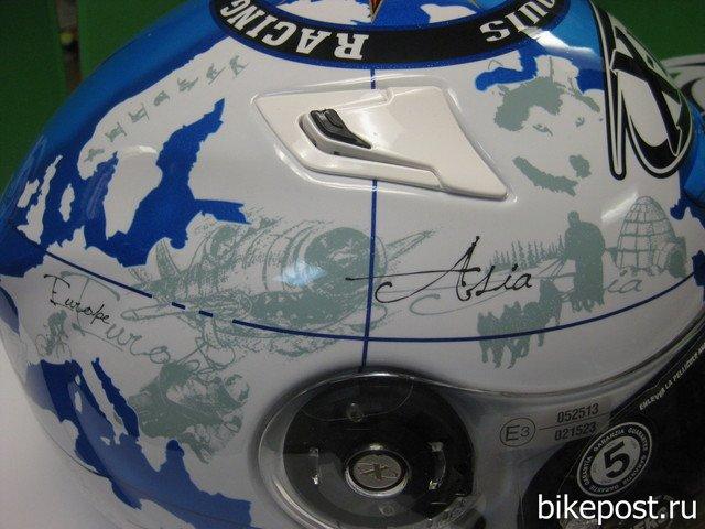 Шлем X-Lite X-802 реплика Карлоса Чека (Carlos Checa)