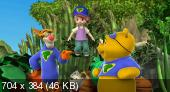 ��� ������ ������� � �����: ����� ����� ������ / My Friends Tigger & Pooh: Super Duper Super Sleuths (2010) DVDRip