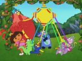 Путешественница Даша: Вечеринка / Dora The Explorer: It's a Party / 2005 / DVDRip