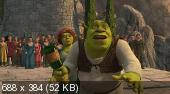 ���� ������ / ���� 3 / Shrek the Third (2007) HDRip(2100Mb+1400Mb+700Mb)