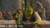 Шрек третий / Шрек 3 / Shrek the Third (2007) HDRip(2100Mb+1400Mb+700Mb)