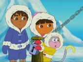 Путешественница Даша: Встреча с Диего / Dora The Explorer: Meet Diego / 2003 / DVDRip