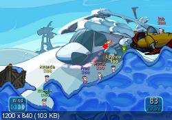 Worms: Battle Islands (2010/PAL/ENG/Wii)