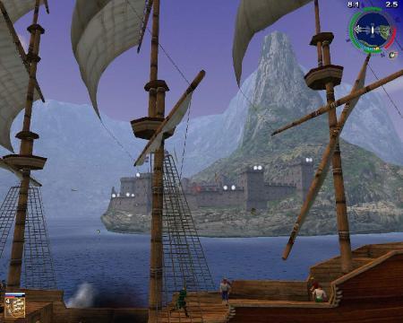 Корсары 2 - Пираты Карибского моря / Sea Dogs 2 - Pirates Of The Caribbean.v 1.03 (2003/RUS) Repack