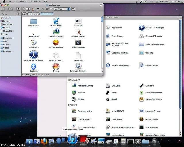 Mac Ubuntu (x86/x64) ML/Rus