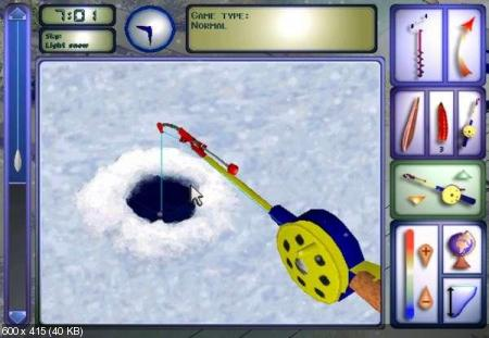 ProPilkki2 v0.8 (Simulation of the winter fishing)