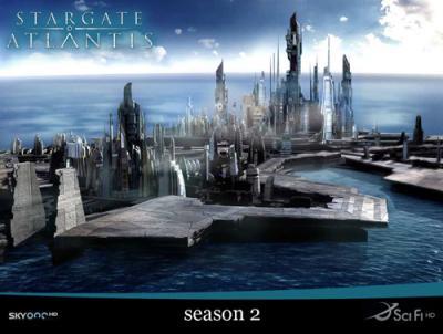 Звёздные Врата : Атлантида / Stargate: Atlantis (2005) [Cезон: 2] WEB-DL 720p
