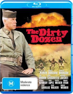 Грязная дюжина / The Dirty Dozen (1967) BDRip 720p