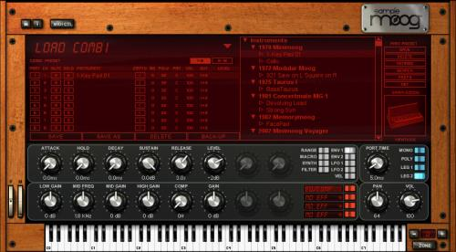 IK.Multimedia SampleMoog  [ VST, AU, MAC.OS, Instruments Moog  Synth Workstation, Sample Moog ]