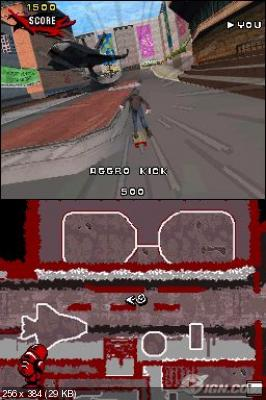 Tony Hawk's Proving Ground 2007 (DS)