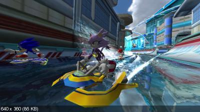 Sonic Riders: Zero Gravity [Wii] [PAL]