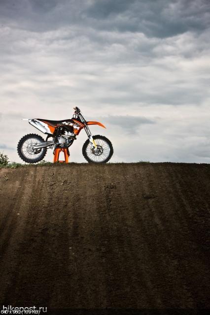 Кроссовые мотоциклы KTM SX и SX-F 2012