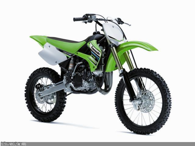 Обновление модельного ряда кроссов Kawasaki KLX 2012